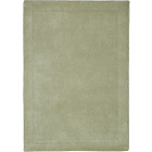 more details on Heart of House Arden Wool Rug - 180 x 120cm - Leaf Green.