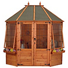 more details on Mercia Octagonal Wooden Summer House 8 x 6ft.
