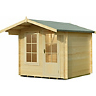 more details on Homewood Crinan Wooden Cabin - 7 x 7ft.