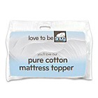 more details on Snug 100% Cotton Percale Anti-Allergy 1cm Mattress Topper