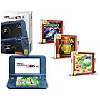 more details on 3DS XL in Blue, Zelda: Link Between Worlds, Yoshis Island.
