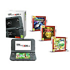 more details on 3DS XL in Black, Yoshis Island, Zelda: Link Between Worlds.