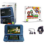 more details on Nintendo 3DS XL Blue with Mario and Luigi: Paper Jam Bros.