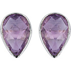 more details on Lynn Rodgers Sterling Silver Amethyst Stud Earrings.