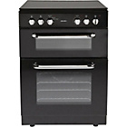 more details on Bush BFEDC60B Double Electric Cooker - Black/Exp.Del.