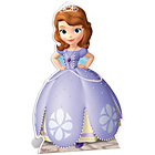 more details on Disney Sofia the First Life-Sized Cutout.