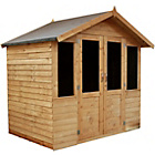 more details on Mercia Traditional Double Door Wooden Summer House 7 x 5ft.