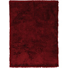 more details on Heart of House Bliss Deep Pile Rug 170x110cm-Cranberry.