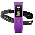 more details on Garmin Vivofit Sports Watch with Heart Rate Monitor - Purple