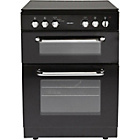 more details on Bush BFEDC60B Double Electric Cooker - Black/Ins/Del/Rec.
