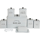 more details on HOME 8 Piece Storage Set - White.