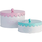 more details on Heart of House Set of 2 Pastels Cake Tins.