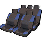 more details on Streetwize Premium Seat Cover Set - Black and Blue.