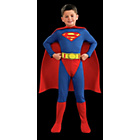more details on Classic Superman Dress Up Outfit - 5-6 Years.