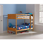 more details on Leila Pine Single Bunk Bed Frame with Bibby Mattress.