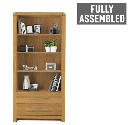Buy Heart Of House Elford Bookcase Oak Effect At Your Online Shop For Bookcases