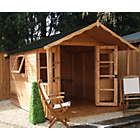 more details on Mercia Premier Wooden Summer House with Veranda 10 x 8ft.
