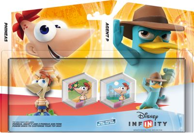 Disney Infinity Phineas and Ferb Toybox Pack