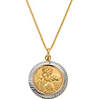 more details on 9ct Rolled Gold St. Christopher Pendant.
