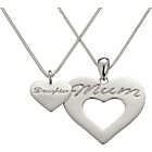 more details on Sterling Silver Mum and Daughter Pendant Set.