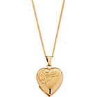 more details on 9ct Rolled Gold Heart Locket Pendant.