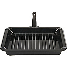 more details on Heart of House 35cm Vitreous Enamel Grill Pan.