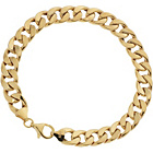 more details on 9ct Gold ¼oz Hollow Curb Bracelet.