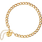 more details on 9ct Gold Curb and Padlock Bracelet.