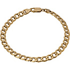 more details on 9ct Gold Solid Look Curb Bracelet.
