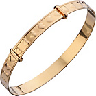 more details on 9ct Rolled Gold Children's Heart Expander Bangle.