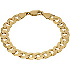 more details on 9ct Gold Solid Curb Bracelet.