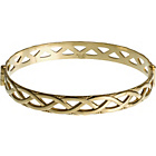 more details on 9ct Rolled Gold Celtic Style Hinged Bangle.