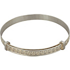 more details on Sterling Silver Expander Bangle.