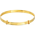 more details on 9ct Gold 3mm Baby Expander Bangle.
