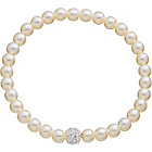 more details on Fresh Water Pearl Glitter Ball Bracelet.
