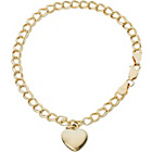 more details on 9ct Gold Plated Sterling Silver Heart Bracelet.