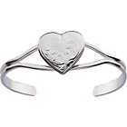 more details on Heart Locket Bangle.