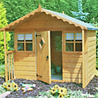 more details on Homewood Cubby Playhouse 6 x 4ft.