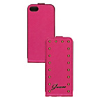 more details on Guess Stud iPhone 5/5S Booklet Case - Pink.