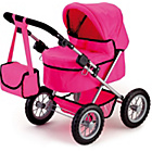 more details on Bayer Trendy Doll's Pram - Pink.