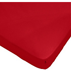 more details on Heart of House Egyptian Cotton Cranberry Fitted Sheet-Double