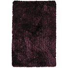 more details on Heart of House BlissDeep Pile Rug 170 x 110cm - Plum.