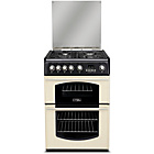 more details on Hotpoint CH60GTC Gas Cooker - Cream/Del/Ins/Rec.