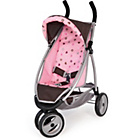 more details on Bayer Doll's Jogger Stroller - Brown.