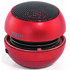 more details on Bush 3.5 Line-In Portable Speaker - Red.