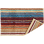 more details on Christy Supreme Stripe Bath Mat - Spice.