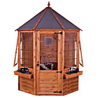 more details on Mercial Octagonal Wooden Summer House 6 x 6ft.