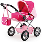 more details on Bayer Combi Grande Doll's Pram - Pink.