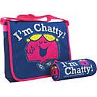 more details on Little Miss Chatty Messenger Bag - Navy.