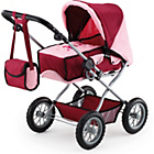 more details on Bayer Combi Grande Doll's Pram - Bordeaux.